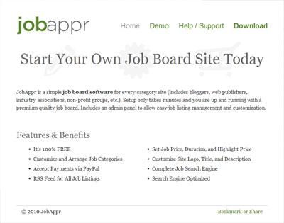 اسکریپت کاریابی آنلاین JobApper