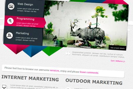 qark قالب زیبای QARK Modern به صورت HTML