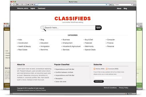 راه اندازی سایت آگهی رایگان با پوسته Classifieds وردپرس