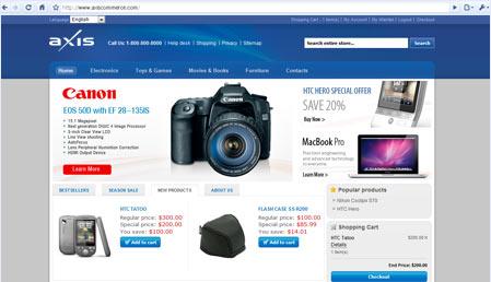 اسکریپت فروشگاه ساز Axis
