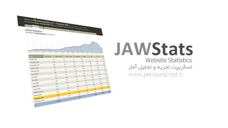 اسکریپت تجزیه و تحلیل آمار سایت JawStats نسخه 0.7