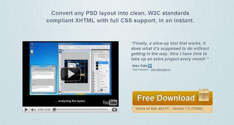 با PSDBreaker فایل های PSD را براحتی به XHTML تبدیل کنید!