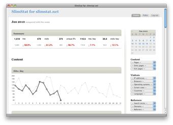 اسکریپت تجزیه تحلیل/آنالیز آمار سایت