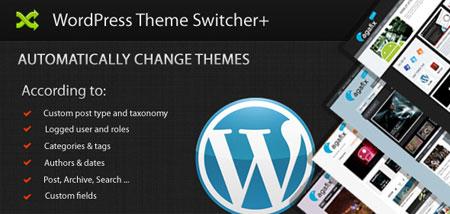 افزونه پیشرفته تعویض قالب وردپرس WordPress Theme Switcher